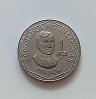1 писо Филиппины 1982 г., фото 1