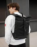 """Прочный мужской рюкзак """"CITIZEN"""" чёрный, на 18л, сумка для ноутбука, спортивный, городской, для путешествий"""