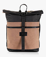 """Прочный мужской рюкзак """"ROLLTOP"""" винтаж, на 21л, сумка для ноутбука, повседневный, спортивный, для путешествия"""