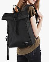 """Женский городской рюкзак """"ROLL MINI"""" на 18л, спортивный повседневный, сумка для планшета, нетбука,черный"""