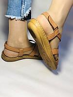 Жіночі шкіряні босоніжки .Розмір 37.39 Туреччина, фото 4