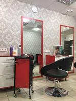 Парикмахерское кресло на гидравлике для салона красоты цвет черный  А069 кресло для парикмахерского салона