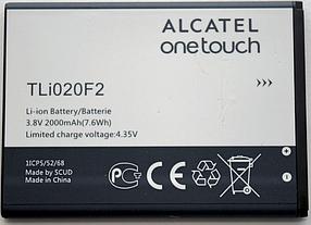 Аккумулятор (Батарея) для Alcatel 7040N One Touch TLi020F2 (2000 mAh)