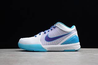 Кроссовки мужские Nike Zoom Kobe 4 Protro / ZKM-004 (Реплика)