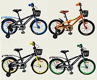Велосипед детский 2-х колесный 18'' Like2bike Neos, рама сталь, со звонком, ручной тормоз,в наличии 4 цвета.