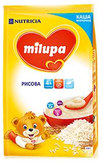 Каша молочна рисова  для дітей від 4-х місяців