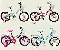 Велосипед детский 2-х колесный 18'' Like2bike Eveline,в наличии 4 цвета, рама сталь, со звонком, ручной тормоз