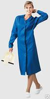 Халат рабочий, спецодежда женская, униформа уборщицы