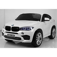 Двухместный детский электромобиль BMW JJ 2168 белый