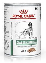 Консервы для собак при диабете Royal Canin Diabetic Special Low Carbohydrate паштет 410 г