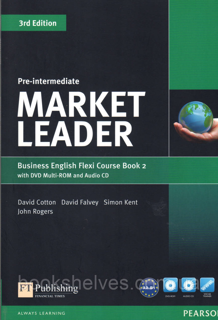 Учебник  Market Leader 3rd Pre-Intermediate Flexi 2 +DVD+CD Stuent's book
