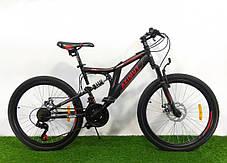 """Горный велосипед 26 дюймов Azimut Blackmount 26"""" GFRD RED, фото 2"""