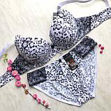 Комплект женского нижнего белья  Biweier №3902 С (черн,красн), фото 4