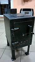 Печка-буржуйка-теплушка на дровах, пеллетах, брикетах, угле, 5мм, доставка по Украина