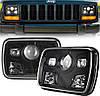 Фара прямоугольная LED 5х7 дюйма, 60 Вт, Jeep Chevrolet Ford GMC Toyota, 12 В, 45 Вт, MS-S5701