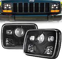 Фара прямокутна LED 5х7 дюйма, 60 Вт, Jeep Chevrolet Ford, GMC Toyota, 12, 45 Вт, MS-S5701