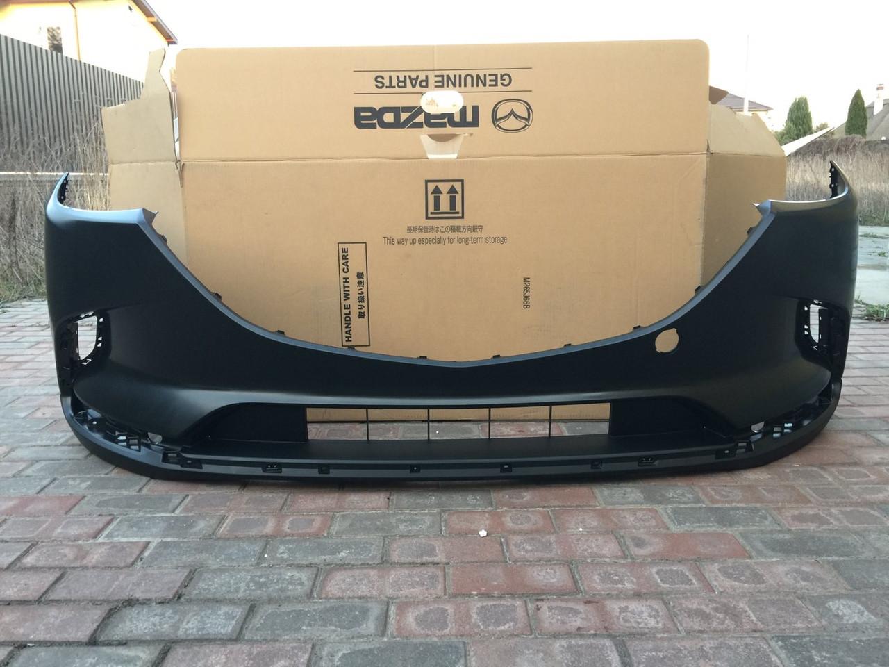 Бампер передний на Mazda CX9 2016-2019г