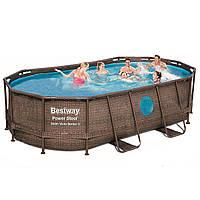 Каркасный бассейн Bestway 56714 - 0, 427 х 250 х 100 см