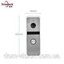 Комплект видеодомофона DOM AHD 10TS + панель вызова DOM AHD 01S, фото 2