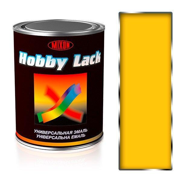 Эмаль для металла ПФ-115 Mixon Hobby Lack. Желтая глянцевая (RAL1021). 0,9 кг