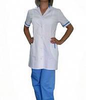 Женский медицинский костюм на кнопках заказ от 10 единиц