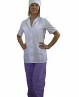 Женский медицинский костюм на кнопках заказ медицинской одежды от 10 единиц