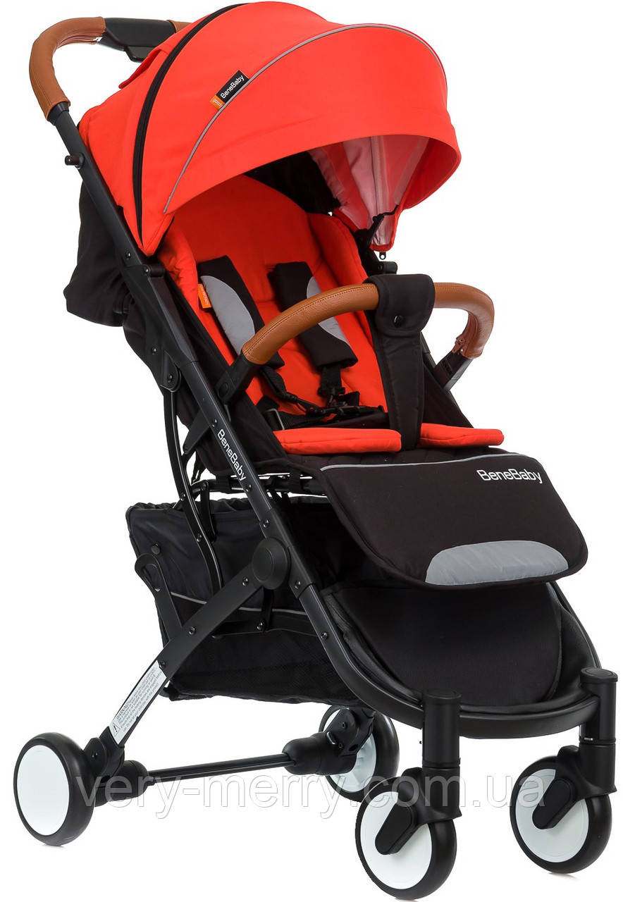 Прогулочная коляска Bene Baby D200 (красный цвет) + бесплатная доставка
