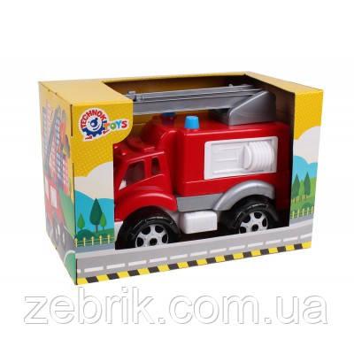 Игрушкамашинка пластиковая  Пожарная машина ТехноК (в коробке), арт. 5392