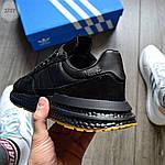 Мужские кроссовки Adidas ZX 500 RM (черные) 371TP, фото 5