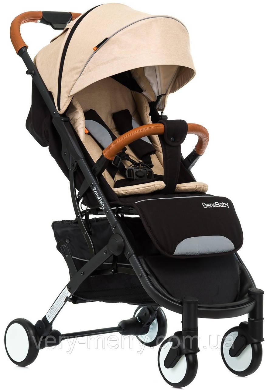 Прогулочная коляска Bene Baby D200 (бежевый цвет) + бесплатная доставка