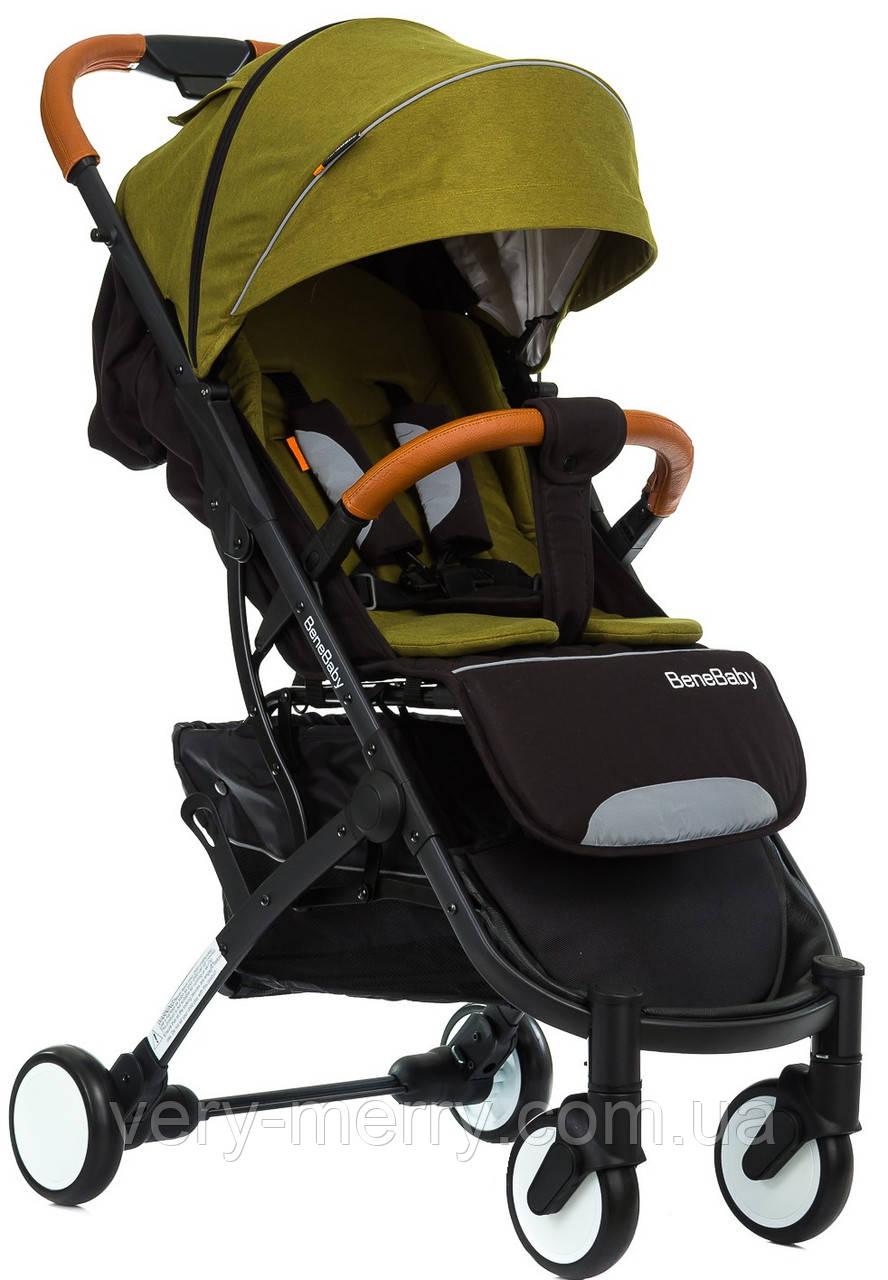 Прогулочная коляска Bene Baby D200 (зеленый цвет) + бесплатная доставка