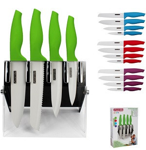 Набір ножів на підставці Kamille 4 шт