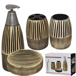 """Керамический набор для ванной комнаты S&T """"Африка"""""""