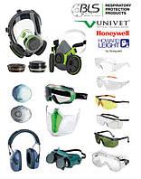 Защита зрения, слуха, дыхательных путей (маски, наушники, очки и другое)