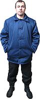 Фуфайка мужская, ватная, рабочая, синяя