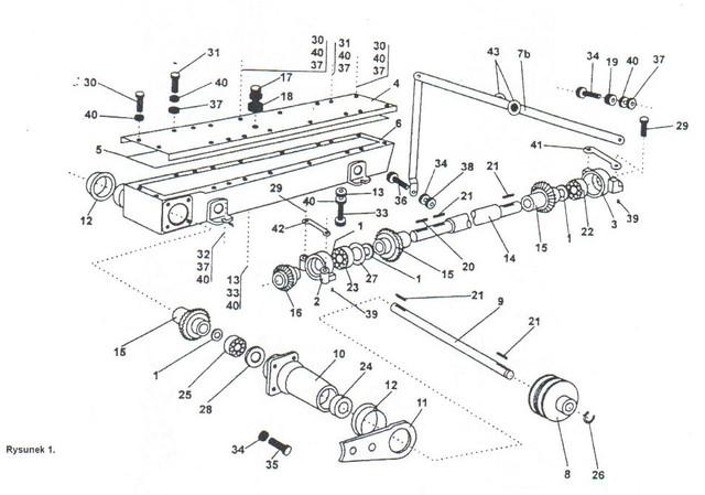 Приводкосилки роторной wirax z-169