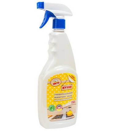 Чисто засіб для чищення кухні 750 г антибактеріальний, фото 2