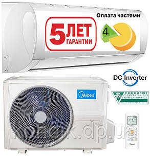 Кондиционер MIDEA MA-09N8DOI-I/MA-09N8DO-O Blanc Inverter 2020, фото 2