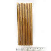 "0250-G Клей-стрижні д/пістолету""Gold"" 18*1,1 див. glitter 6шт/OPP"