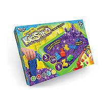 """Набір креативної творчості """"Кінетичний пісок """"KidSand"""", 1200 г+пісочниця, укр. (1)"""