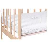 Матрас для детской кроватки Солодких Снiв  Aloe Vera кокос-поролон-кокос 120*60*10 см