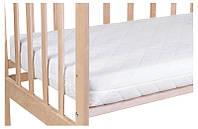 Матрас для детской кроватки Солодких снiв Бамбук кокос-поролон-кокос 120*60*10 см
