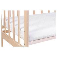 Матрас для детской кроватки Солодких снiв Clima Comfort кокос-поролон-кокос 120*60*10 см