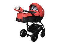 Детская коляска 2 в 1 Angelina Phaeton Black Star Comfort коралловая color 16