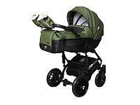 Детская коляска 2 в 1Angelina Phaeton Black Star Comfort оливковая  color 20