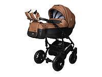 Детская коляска 2 в 1Angelina Phaeton Black Star Comfort коричневая color 22