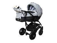 Детская коляска 2 в 1Angelina Phaeton Black Star Comfort серая  color 23