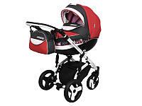 Детская коляска 2 в 1Angelina Sirius Turbo Drop красная color 34