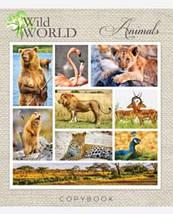 Зошит Мрії Збуваються Дикі тварини, 48 аркушів, лінія, 2214л, фото 3