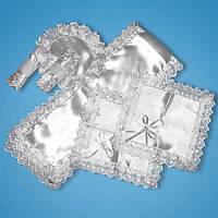 Венчальный набор белый, арт. 2777-1